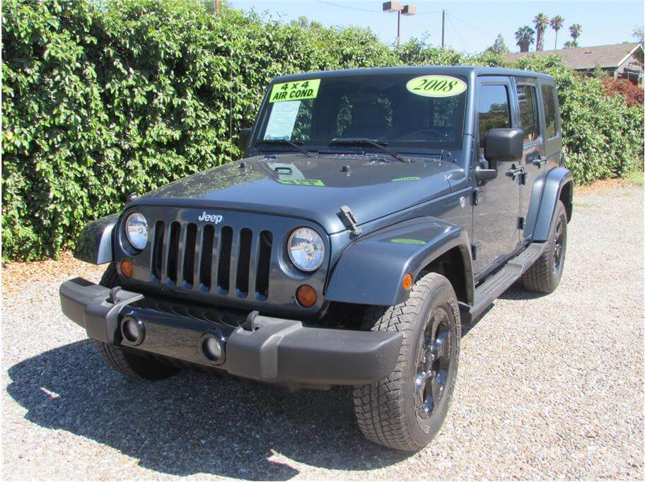 2008 Jeep Wrangler Unlimited Sahara Sport Utility 4D SOLD!!!