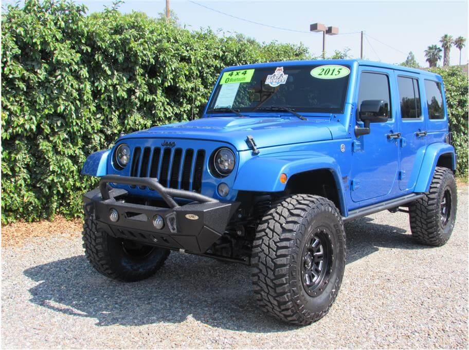 2015 Jeep Wrangler Hydro Blue SOLD!!!