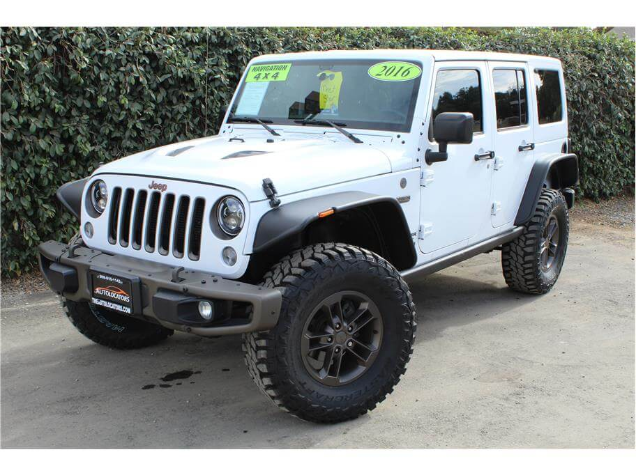 2016 Jeep Wrangler Unlimited 75th Anniversary Edition Sport Utility 4D