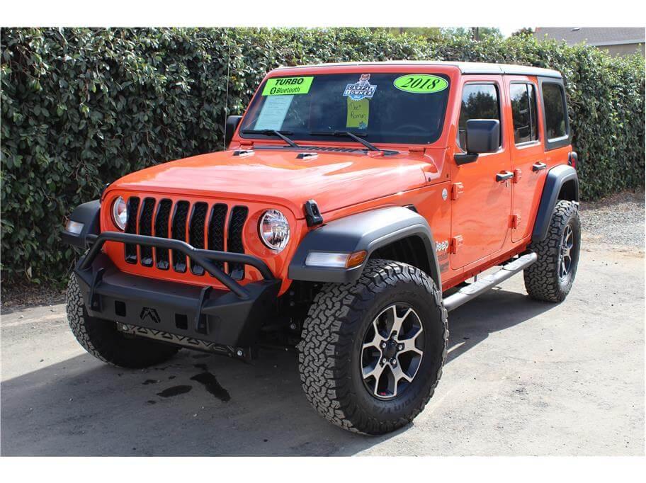 2018 Jeep Wrangler Unlimited Punkd Orange