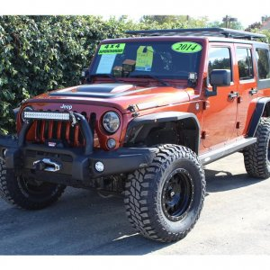 2014 Jeep Wrangler Supercharged