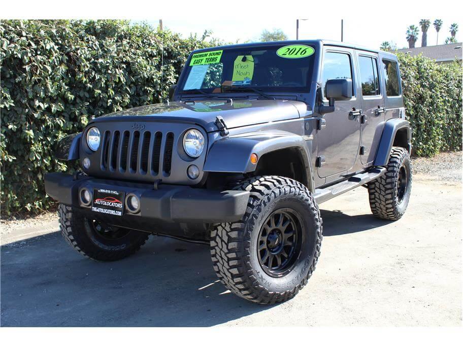 2016 Jeep Wrangler Oscar Mike SOLD!!!