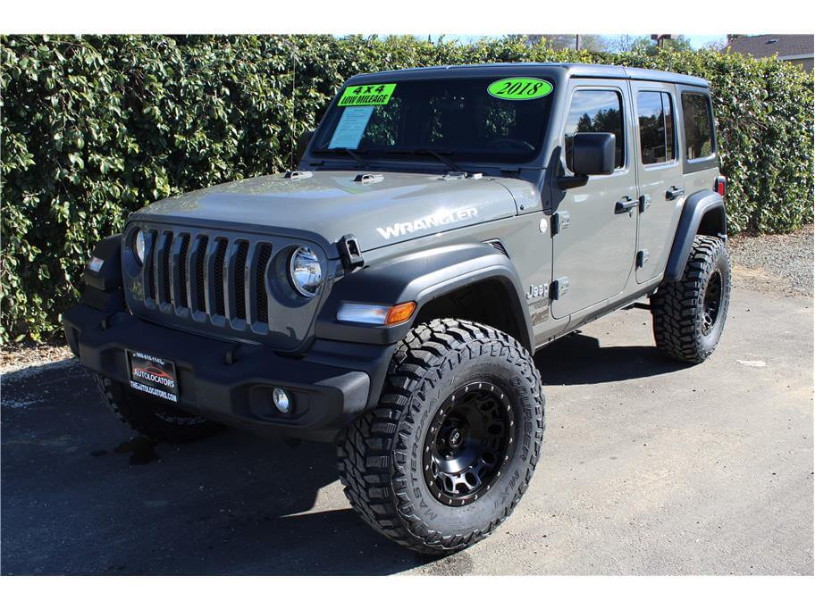 2018 Jeep Wrangler Unlimited All New Sport S Sport Utility 4D
