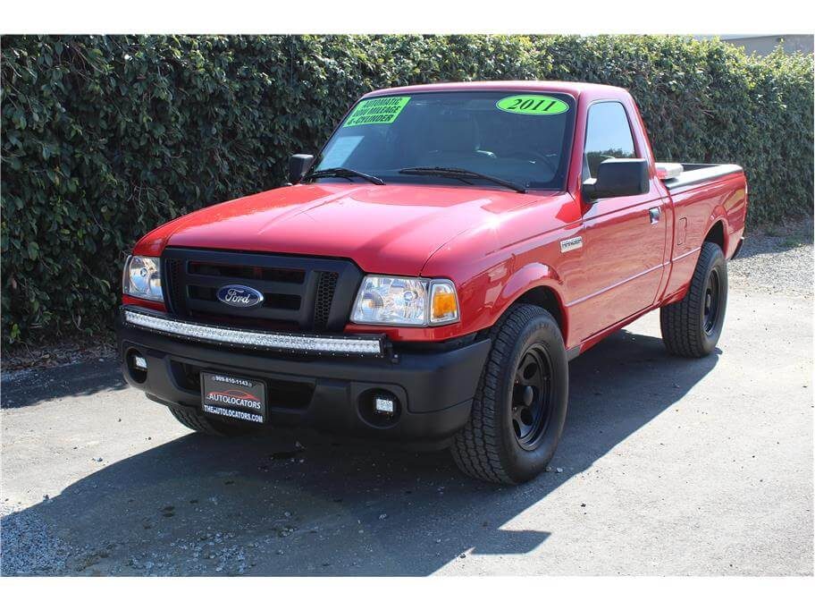 2011 Ford Ranger Regular Cab Low Miles
