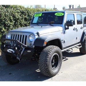 2014 Jeep Wrangler Lifted