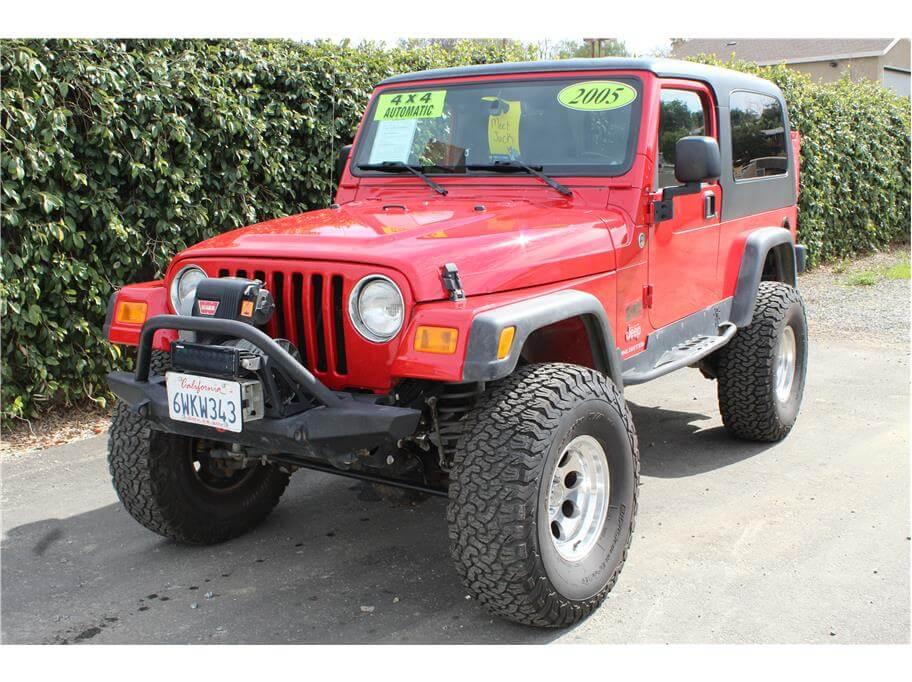 2005 Jeep Wrangler Lockers