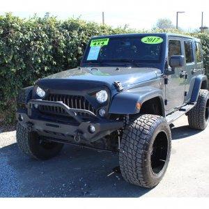 2017 Jeep Wrangler Unlimited Sahara Sport Utility 4D