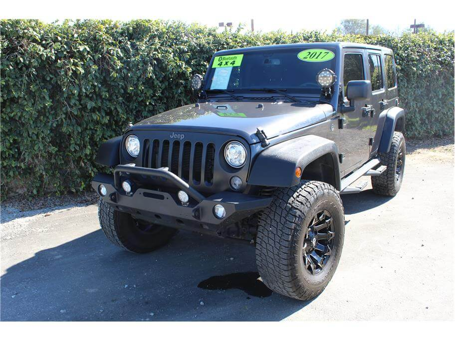 2017 Jeep Wrangler Unlimited Big Bear Sport Utility 4D