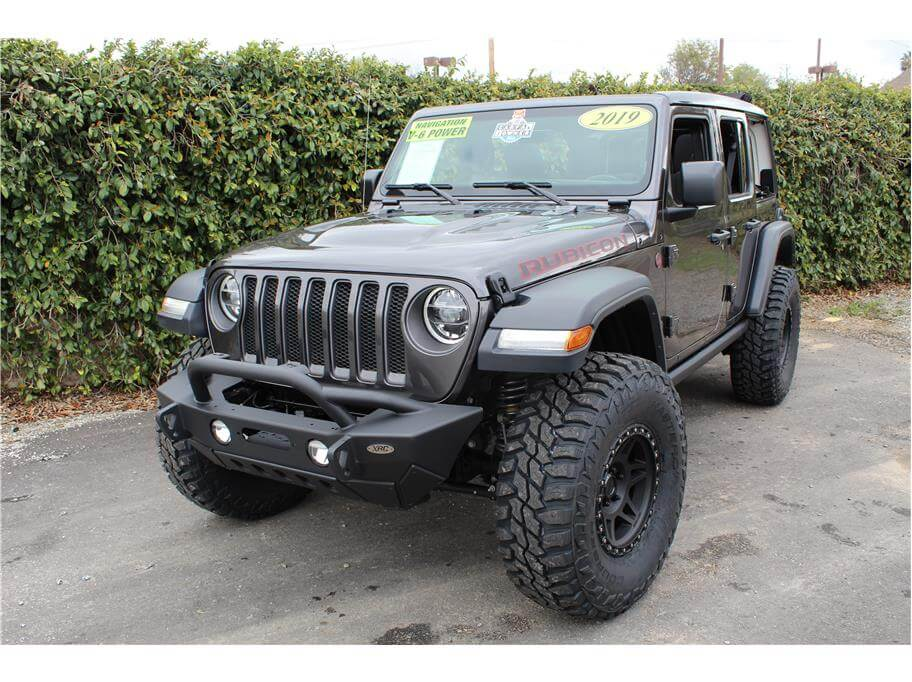 2019 Jeep Wrangler Unlimited Lifted