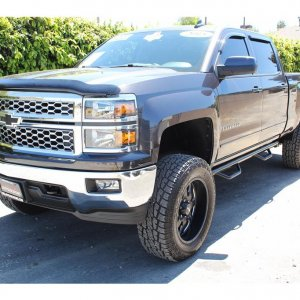2015 Chevrolet Silverado 1500 Crew Cab Lifted SOLD!!!