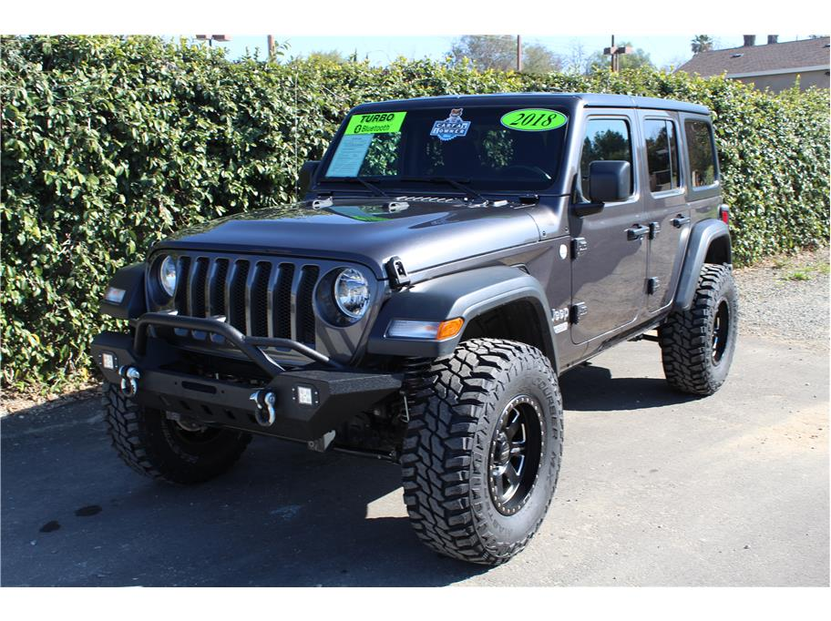 2018 Jeep Wrangler Unlimited Brand New Lift SOLD!!!