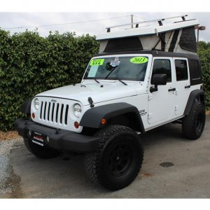 2013 Jeep Wrangler Roof top tent SOLD!!!