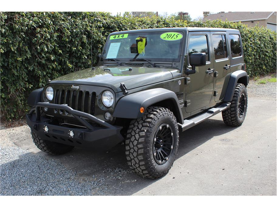 2015 Jeep Wrangler Tank Green SOLD!!!