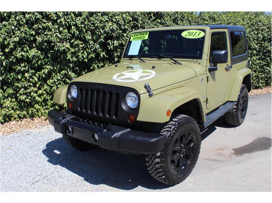 2013 Jeep Wrangler Commando Green