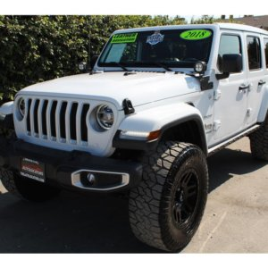 2018 Jeep Wrangler Unlimited Lifted- SkyActive Top