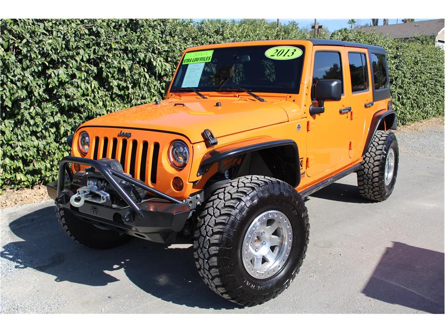 2013 Jeep Wrangler Lockers