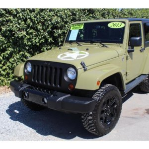 2013 Jeep Wrangler Commando Green-SOLD