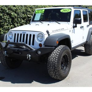 2012 Jeep Wrangler King Shocks