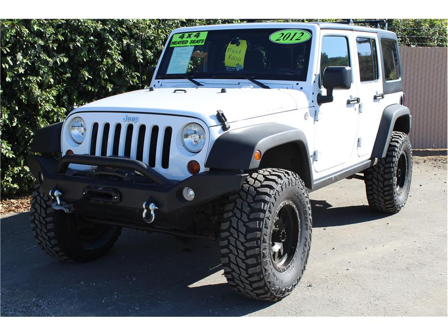 2012 Jeep Wrangler King Shocks