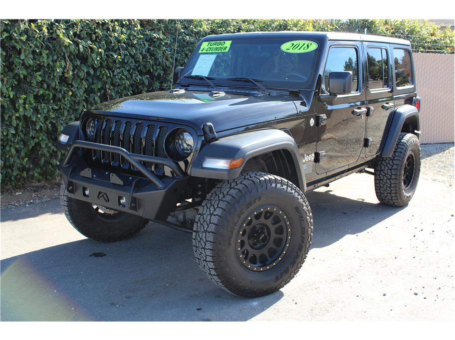 2018 Jeep Wrangler Unlimited Lifted- SOLD!!!