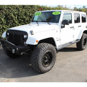 2016 Jeep Wrangler Color Matched