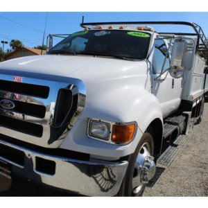 2005 Ford F650 Cummins motor Allison Transmission