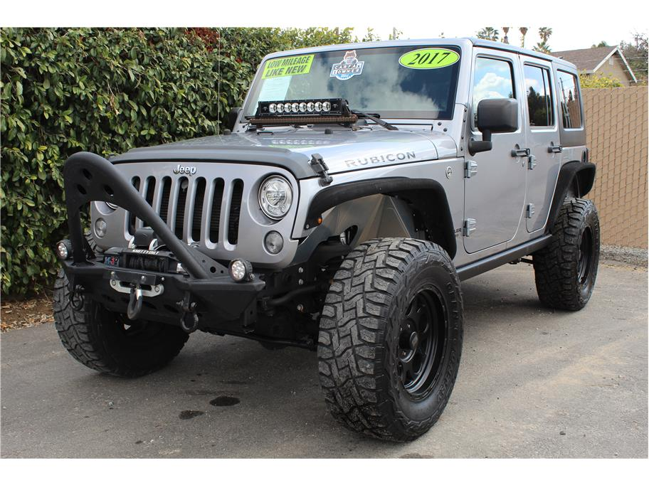 2017 Jeep Wrangler Unlimited Rubicon Sport Utility 4D