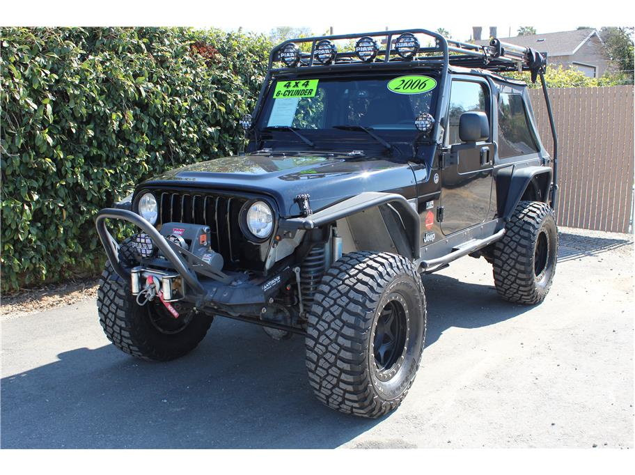 2006 Jeep Wrangler Unlimited Sport Utility 2D