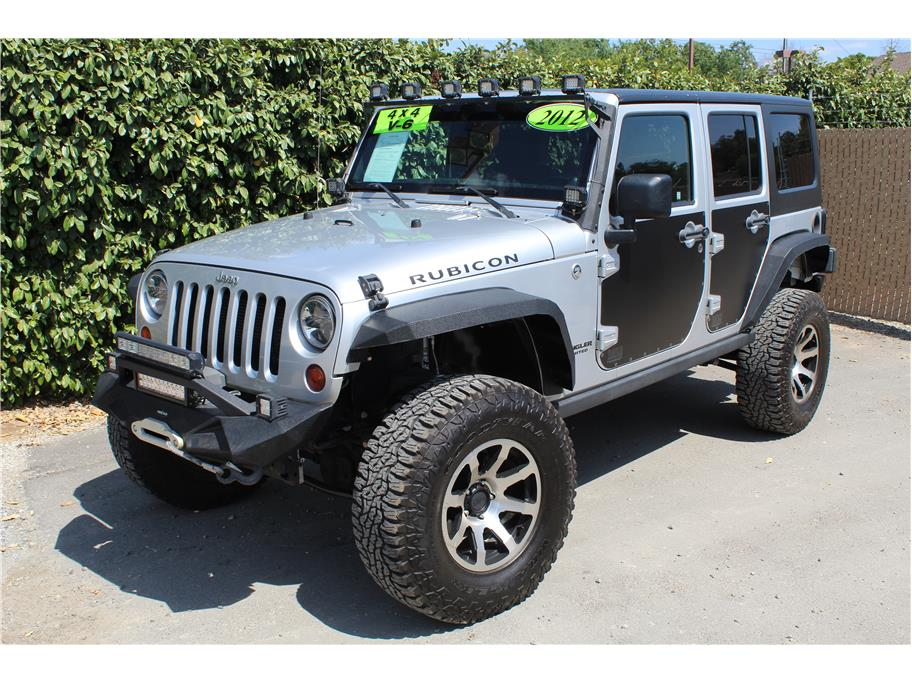 2012 Jeep Wrangler Unlimited Rubicon Sport Utility SOLD