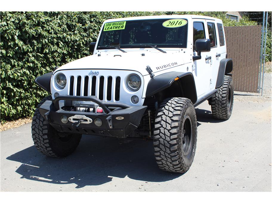 2016 Jeep Wrangler Unlimited Rubicon Sport Utility 4D