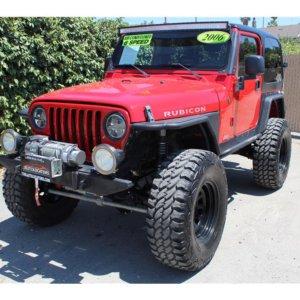 2006 Jeep Wrangler Rubicon Sport Utility 2D